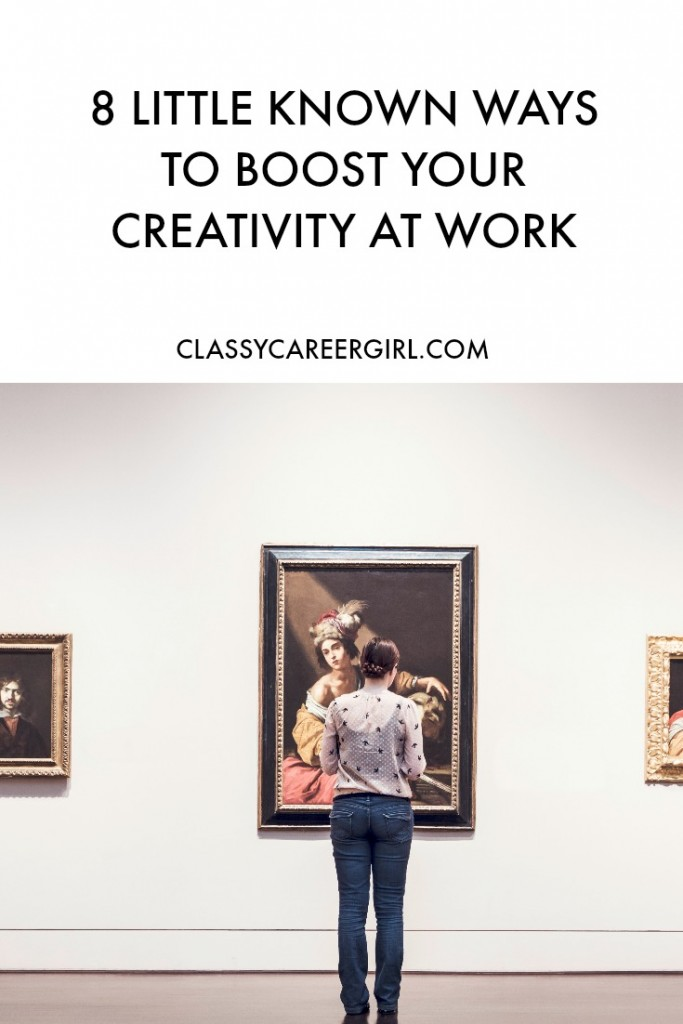 8 ways to boost your creativity at work - Daydream