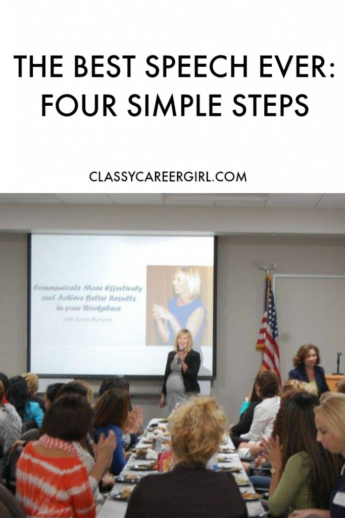 The Best Speech Ever: 4 Simple Steps
