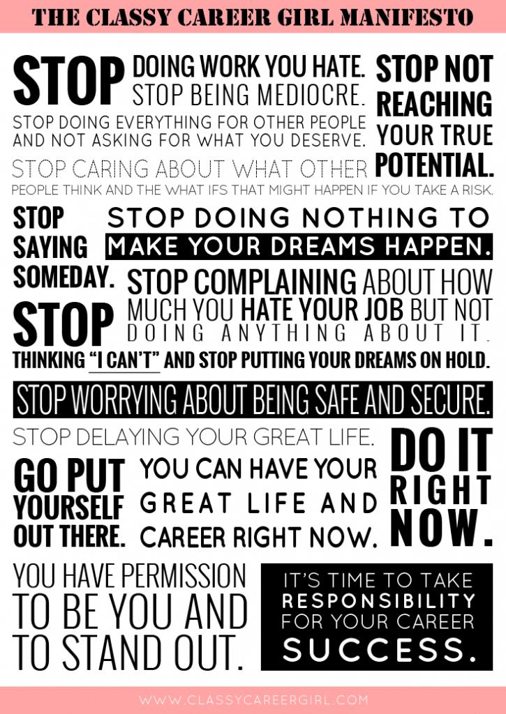 CCG Manifesto