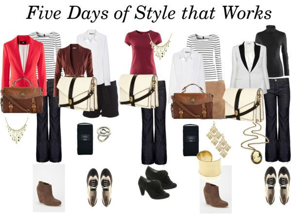 Five Days Of Office Style On A Budget Classy Career Girl