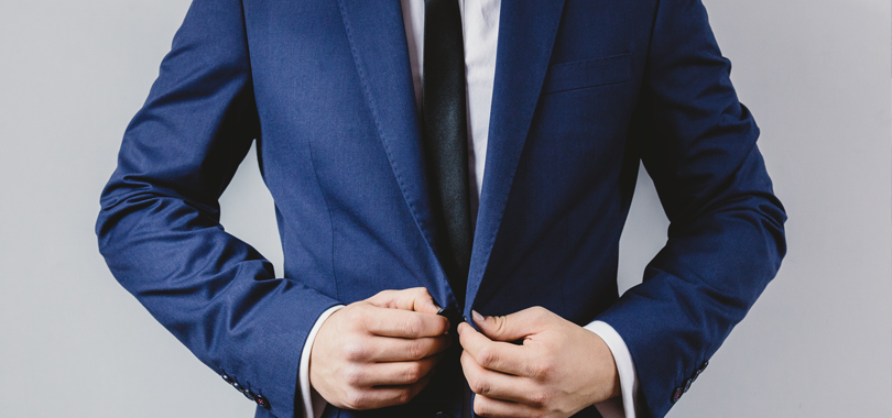 How Men Should Button a Suit Jacket for a Job Interview