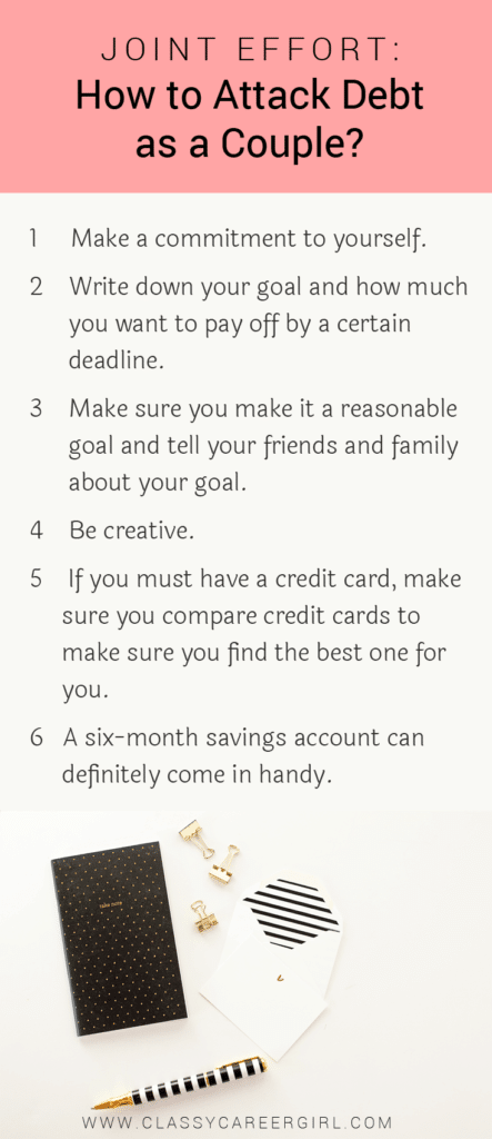 Joint Effort - How to Attack Debt as a Couple list