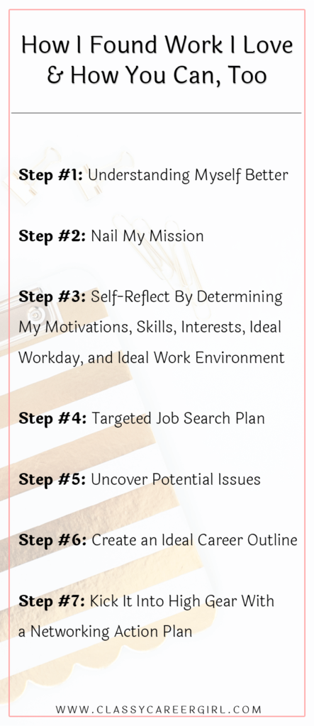 How I Found Work I Love & How You Can Too list