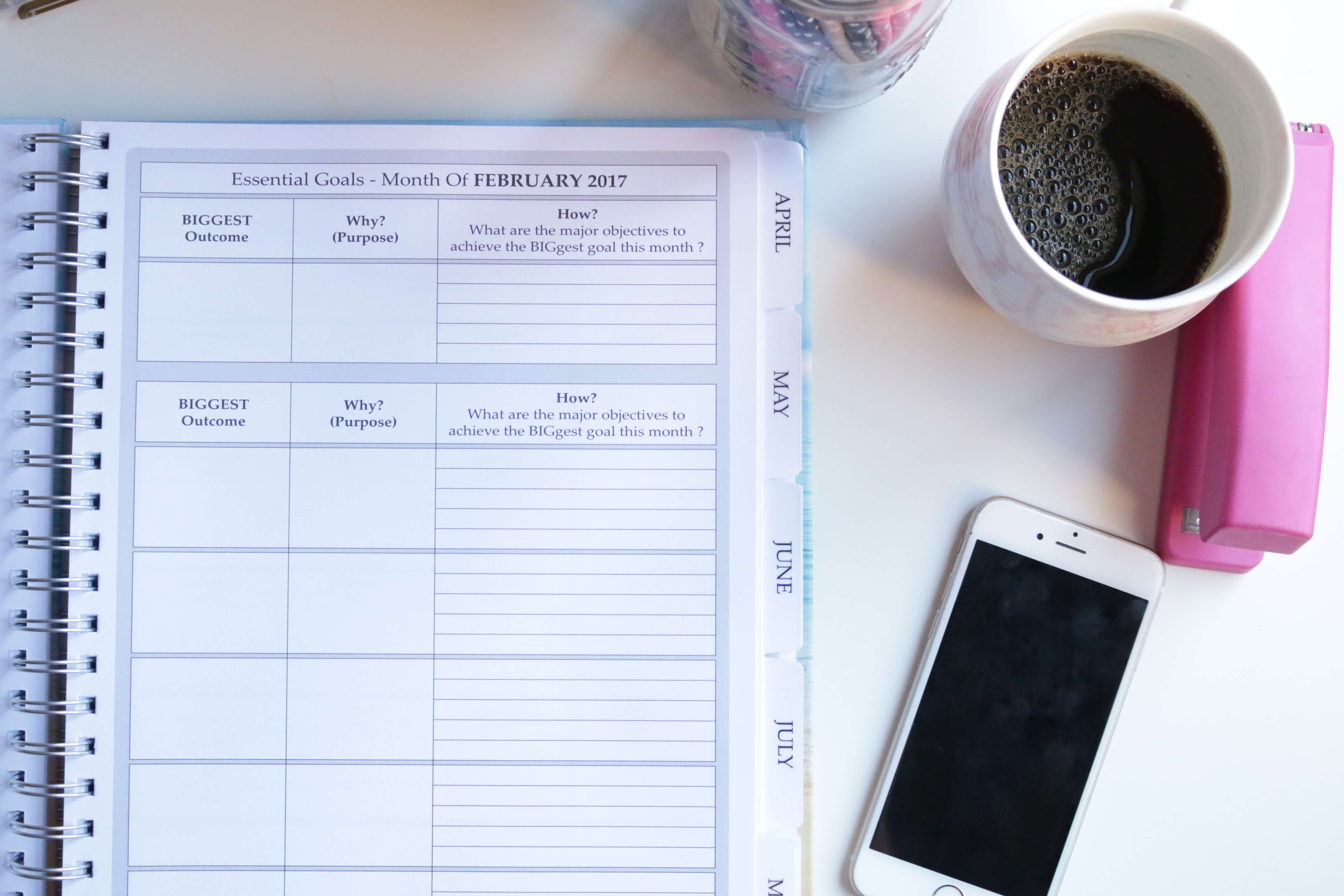 How to Pre-Plan Your Week So You Don't Stress