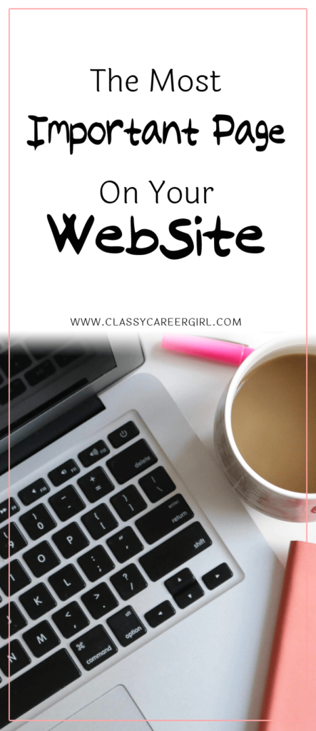 The Most Important Page On Your Website