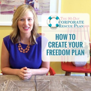 work for yourself - create your freedom plan