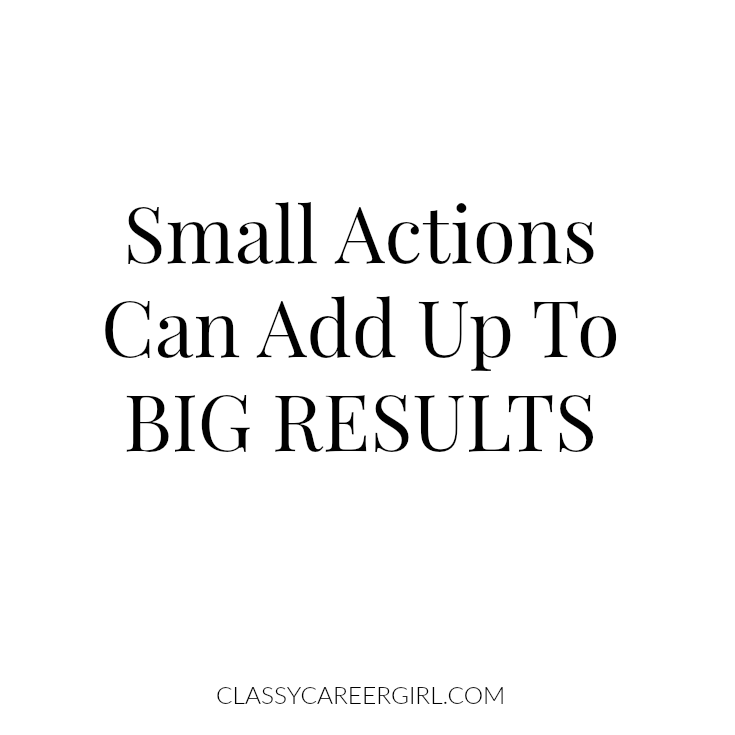 Free Planner: small actions can add up to BIG RESULTS