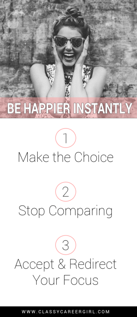 Be Happier Instantly list