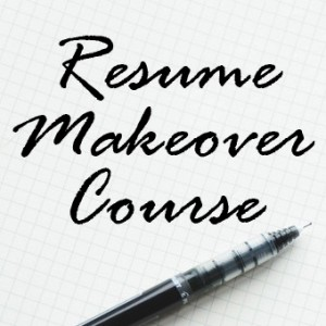resume makeover course