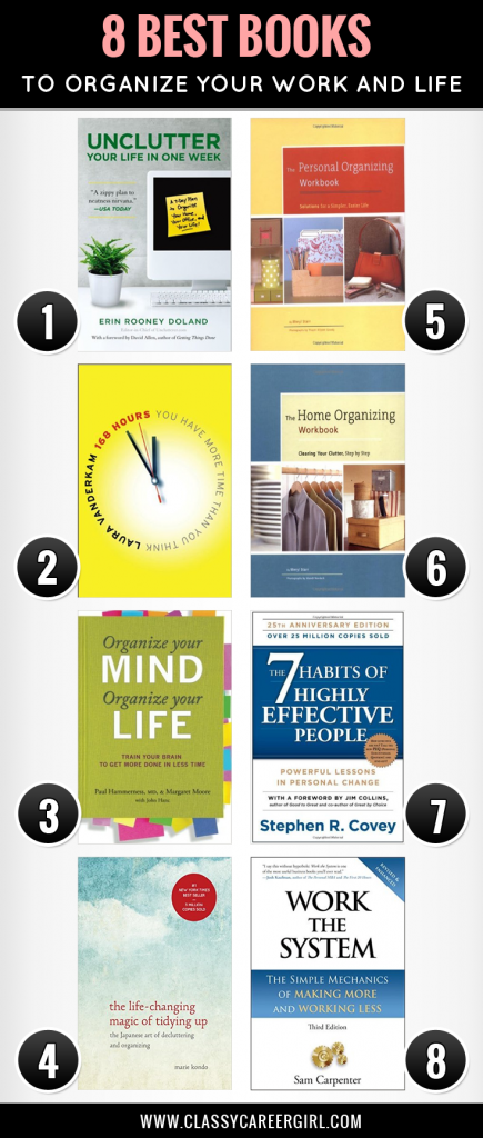8 best organization books