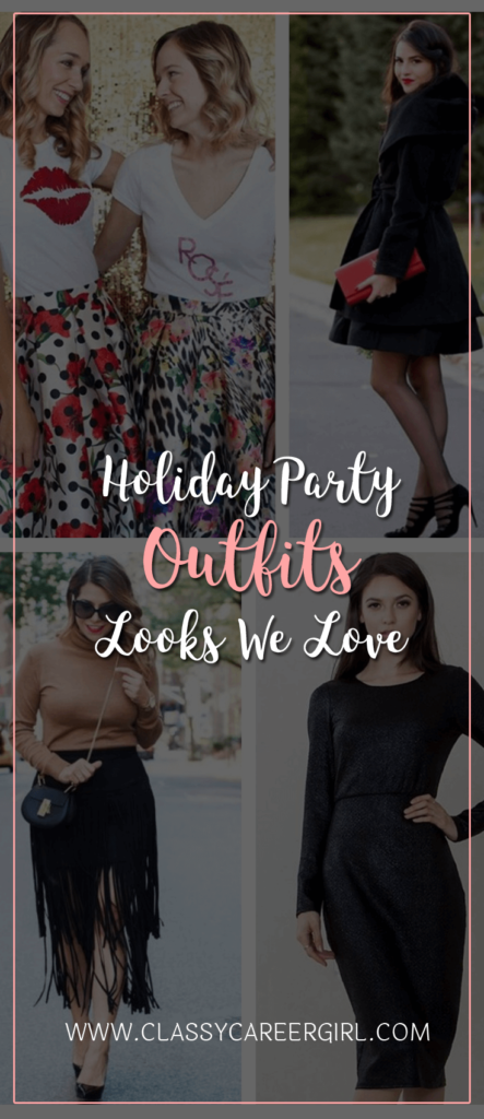 Holiday Party Outfits Looks We Love