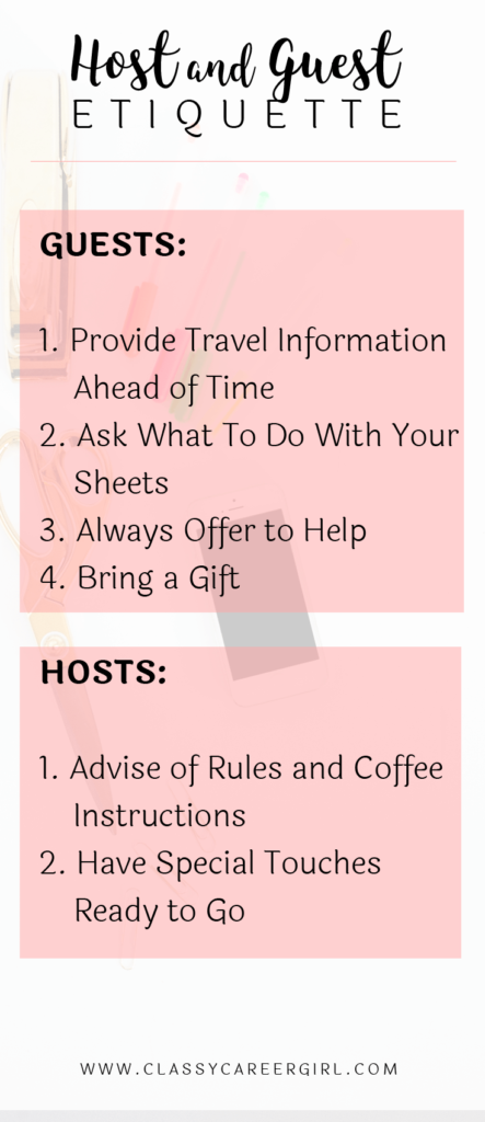 Host Amp Guest Etiquette How To Successfully Host In Your Home