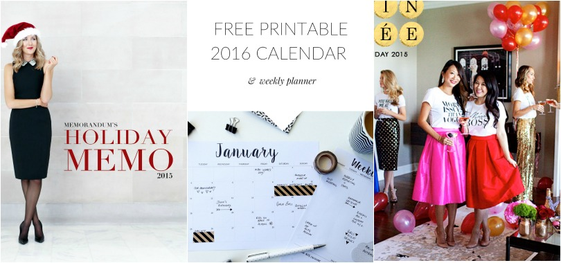 CCG Links We Love: Holiday Gifts, 2016 Calendars and Must Have Tees