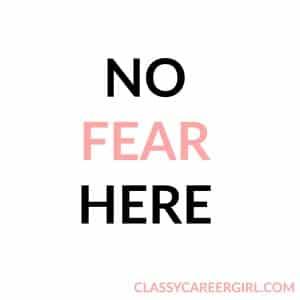 no fear mantras