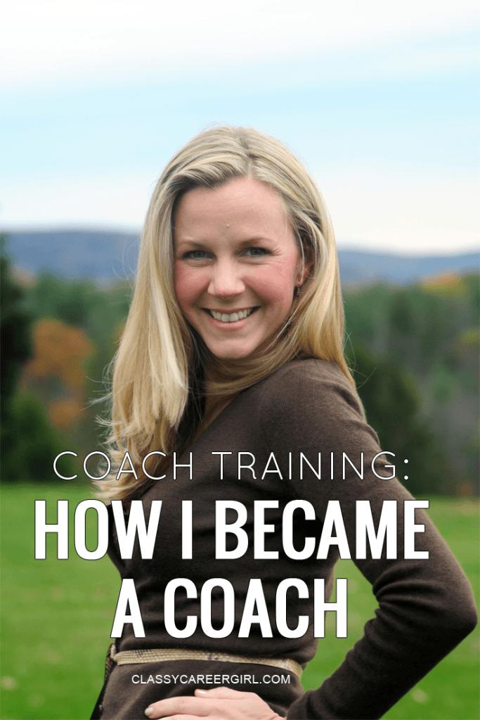 Coach Training - How I Became a Coach
