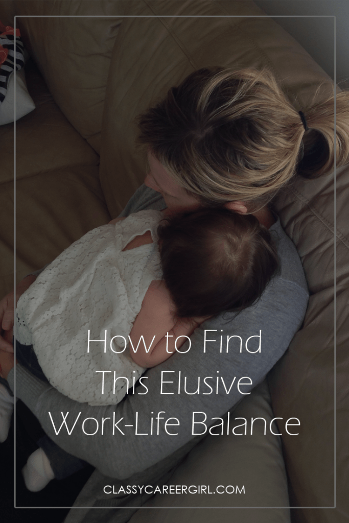 How to Find This Elusive Work-Life Balance