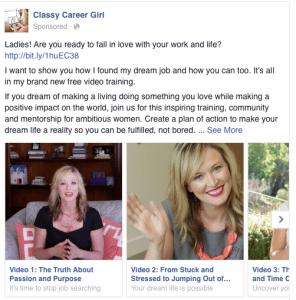 facebook ads ,carousel