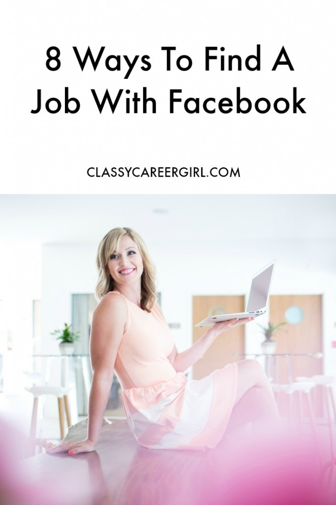 8 ways to find a job with Facebook