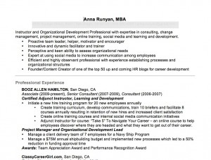 annas resume templates - Ceo Resume Template
