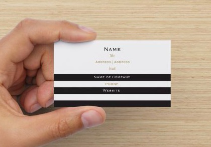 10 business cards youll want to order now classy career girl black and white business cards colourmoves