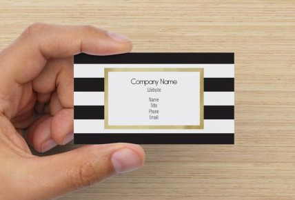10 business cards youll want to order now classy career girl business cards designing reheart Gallery