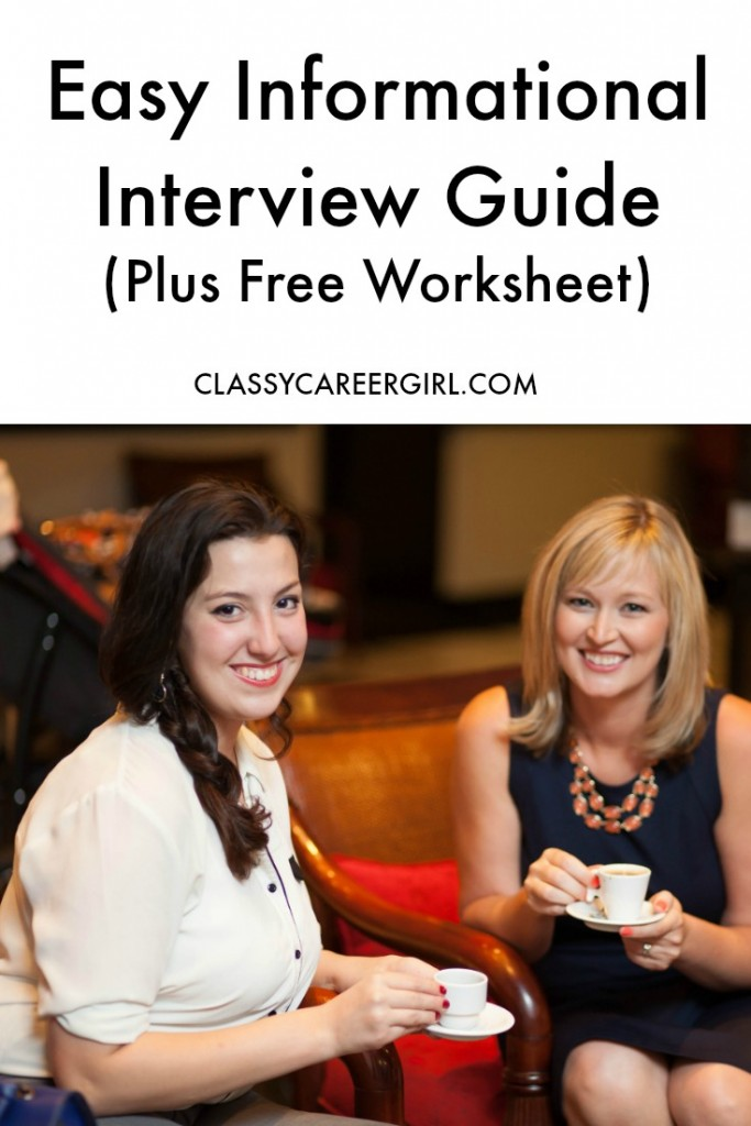 Easy Informational Interview Guide (Plus Free Worksheet)