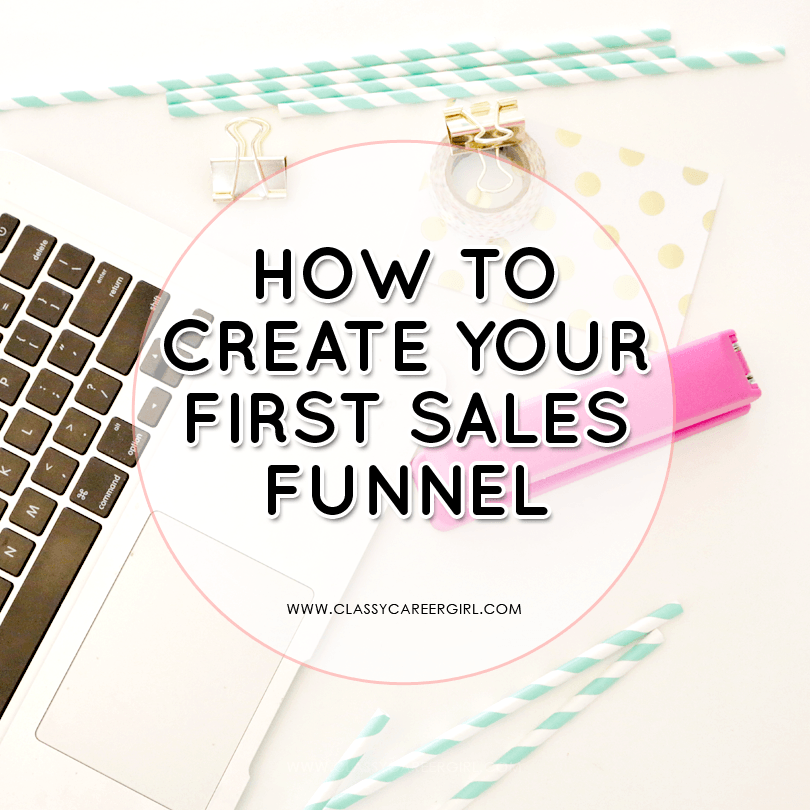How to Create Your First Sales Funnel