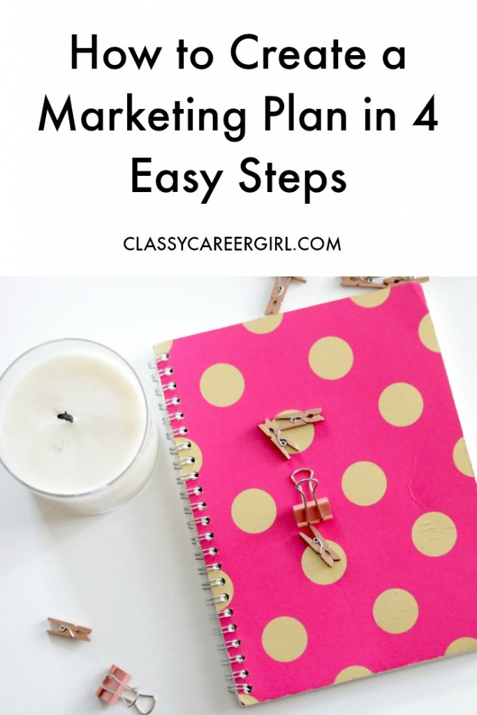 How to Create a Marketing Plan in 4 Easy Steps
