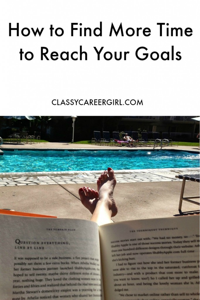 How to Find More Time to Reach Your Goals