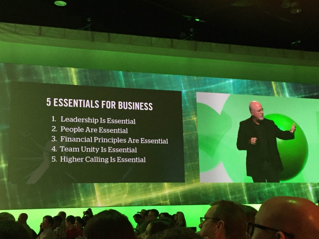 5 essentials for business