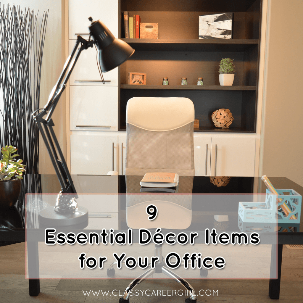 9 Essential Décor Items for Your Office