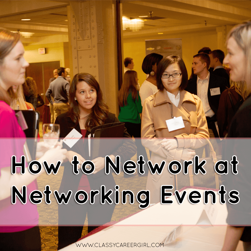 How to Network at Networking Events