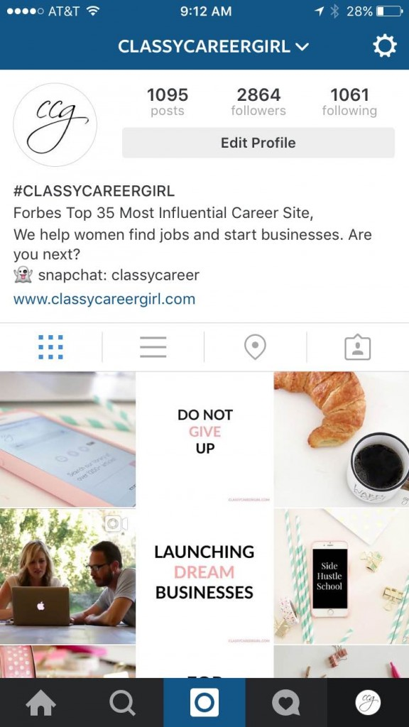 5 Steps To Get A Job On Instagram Classy Career Girl