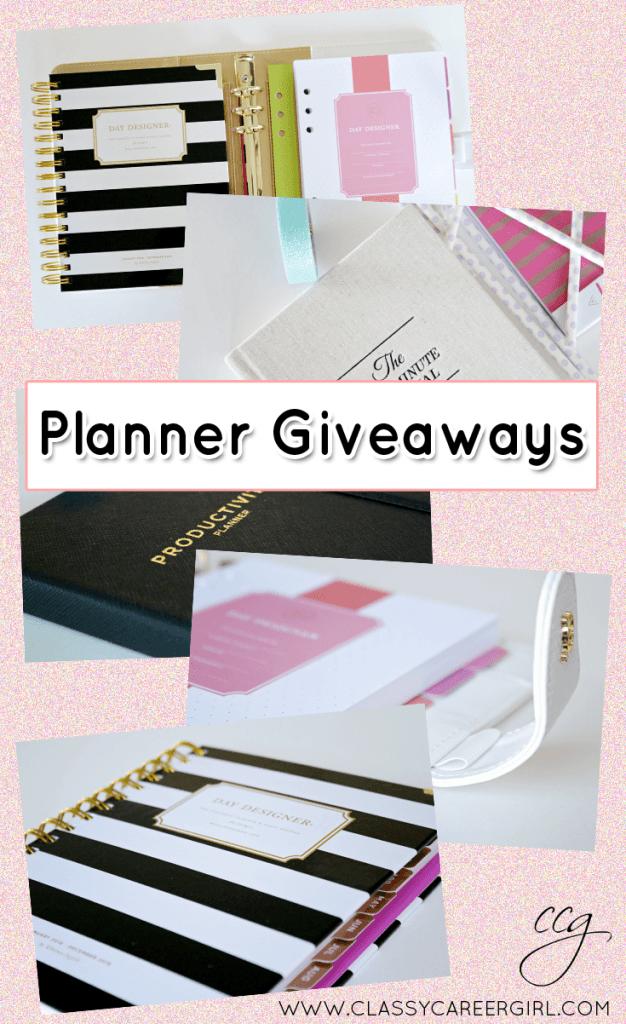 planner giveaways 2