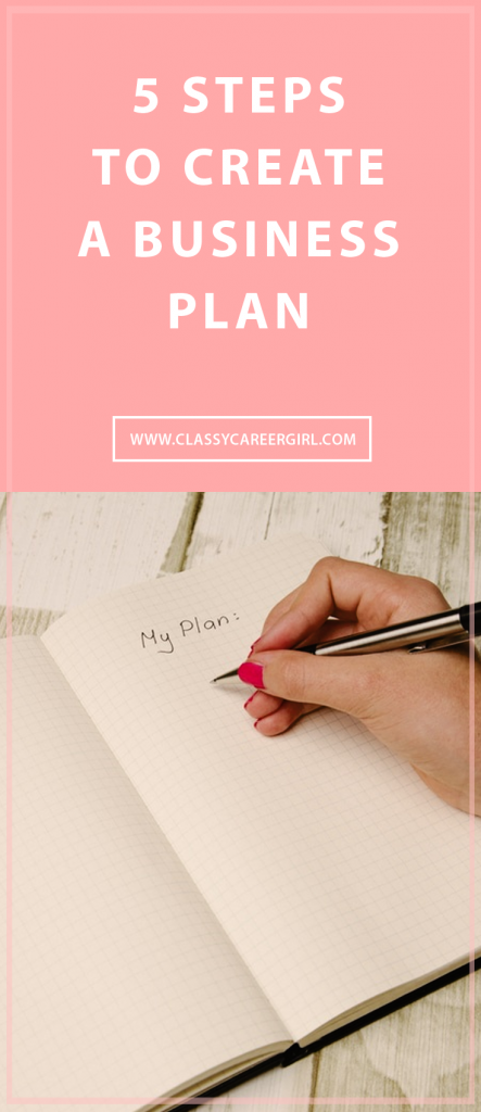 5 Steps to Create a Business Plan