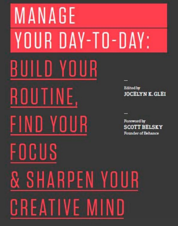 books - Manage Your Day-to-Day