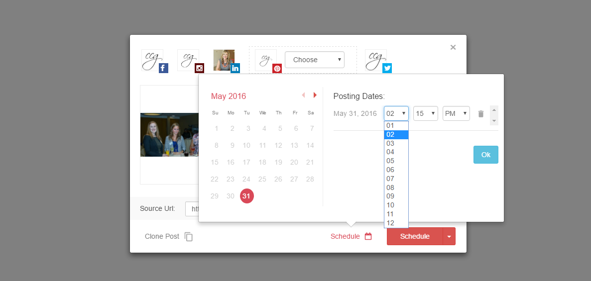How We Automate and Schedule Social Media at CCG