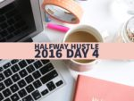Halfway Hustle 2016 Day 4: Get Support