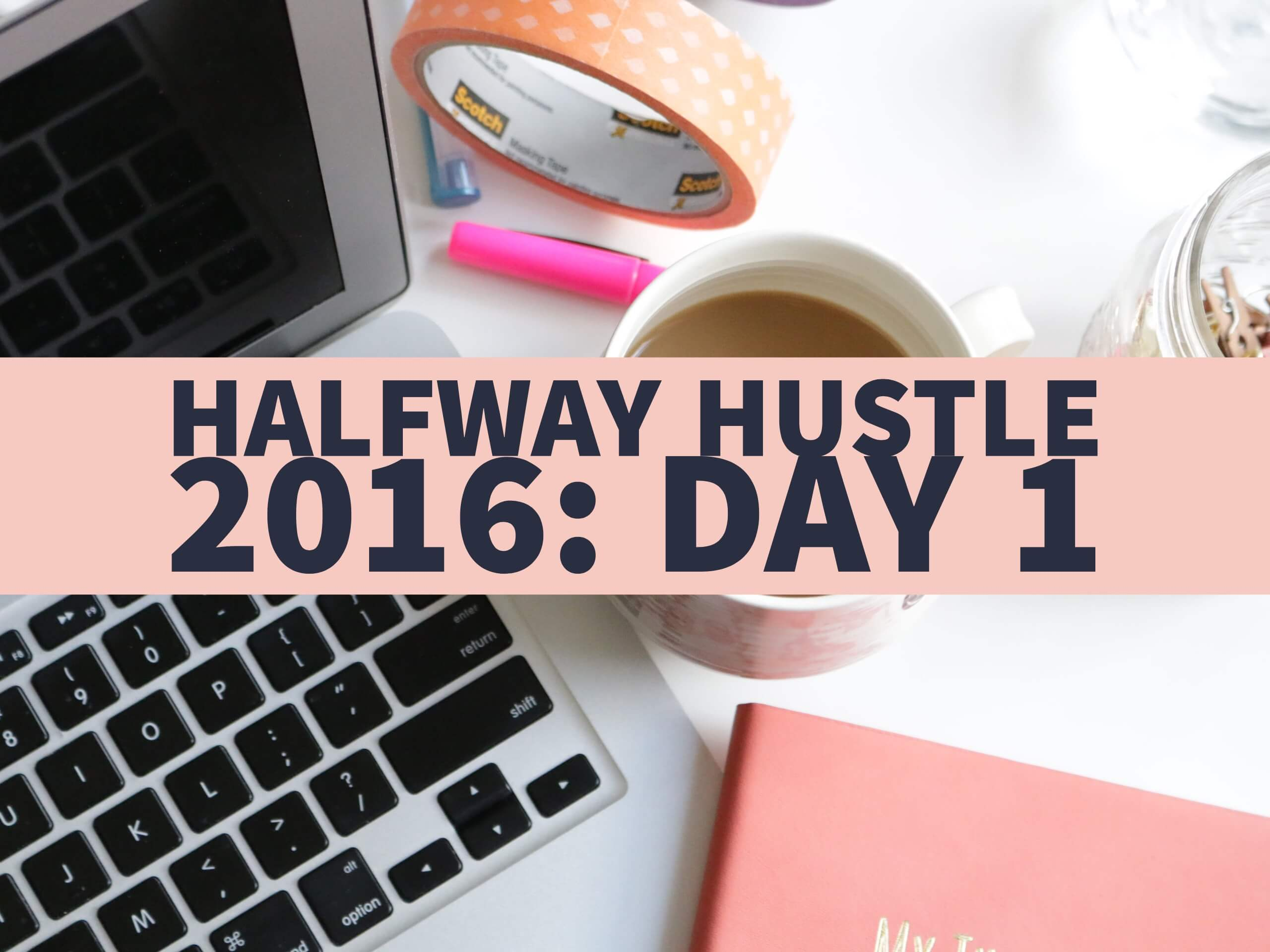 Halfway Hustle 2016 Day 1: Review the Past 6 Months