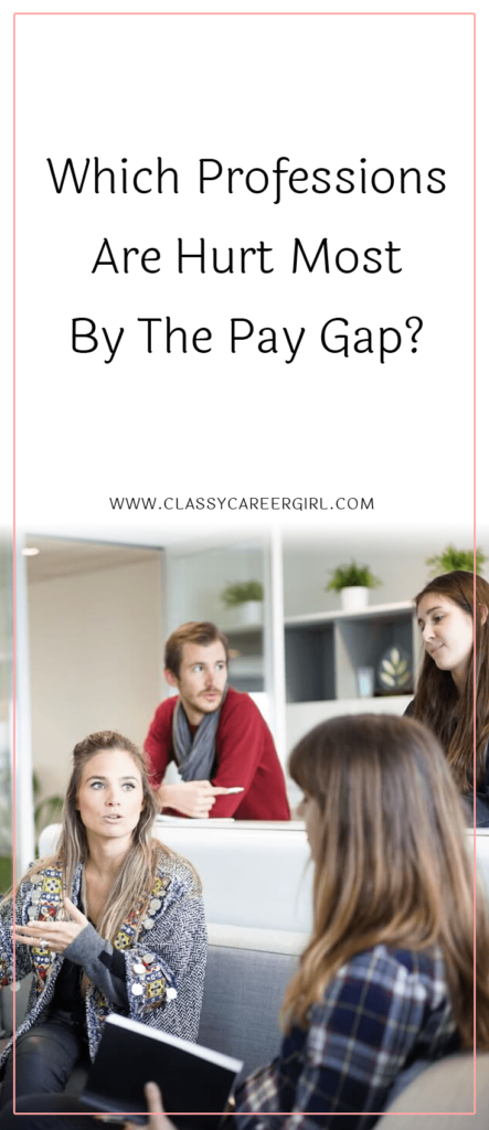 Which Professions Are Hurt Most By The Pay Gap?