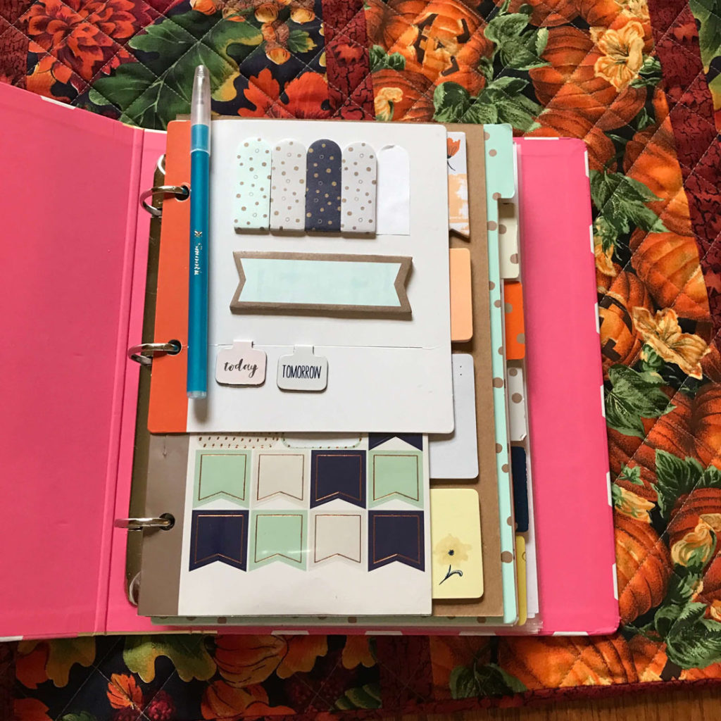 Diy how to make your own daily planner classy career girl for Create custom planner