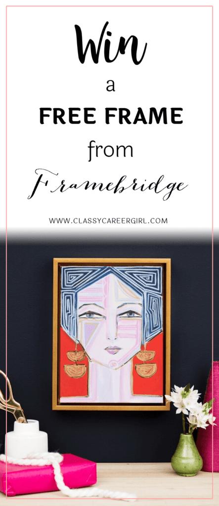 Win a Free Frame From Framebridge