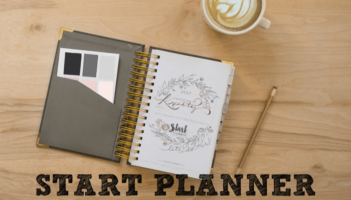 start planner by kristy dickerson and jenny grumbling