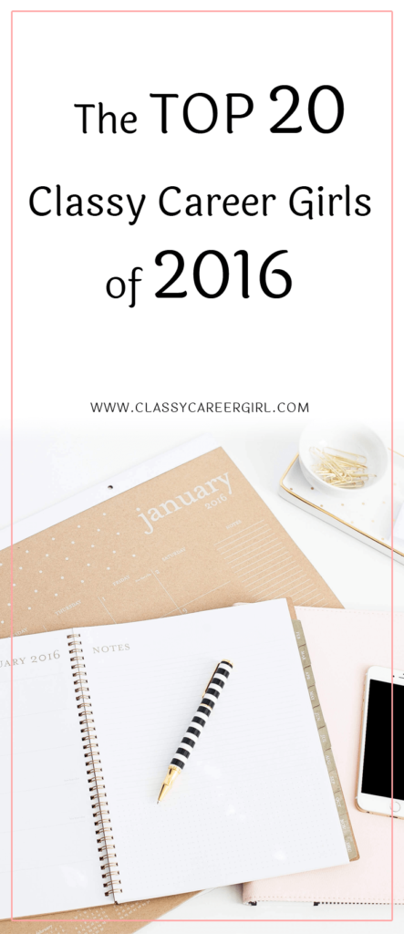 The Top 20 Classy Career Girls of 2016