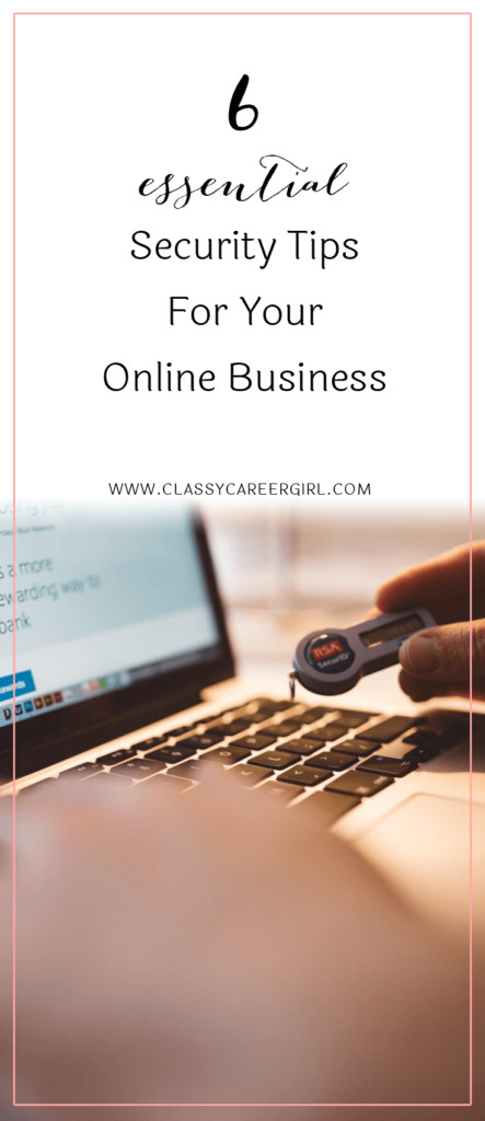 Essential Security Tips For Your Online Business