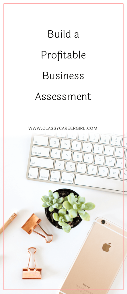 Build a Profitable Business Assessment