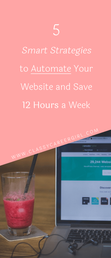 5 Smart Strategies to Automate Your Website and Save 12 Hours a Week