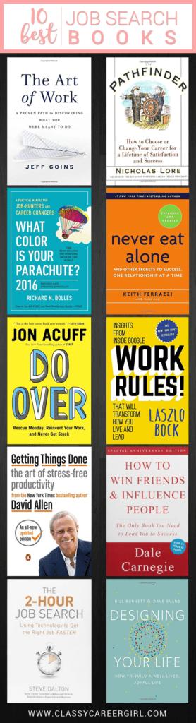 10 best job search books list