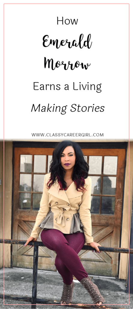 How Emerald Morrow Earns a Living Making Stories