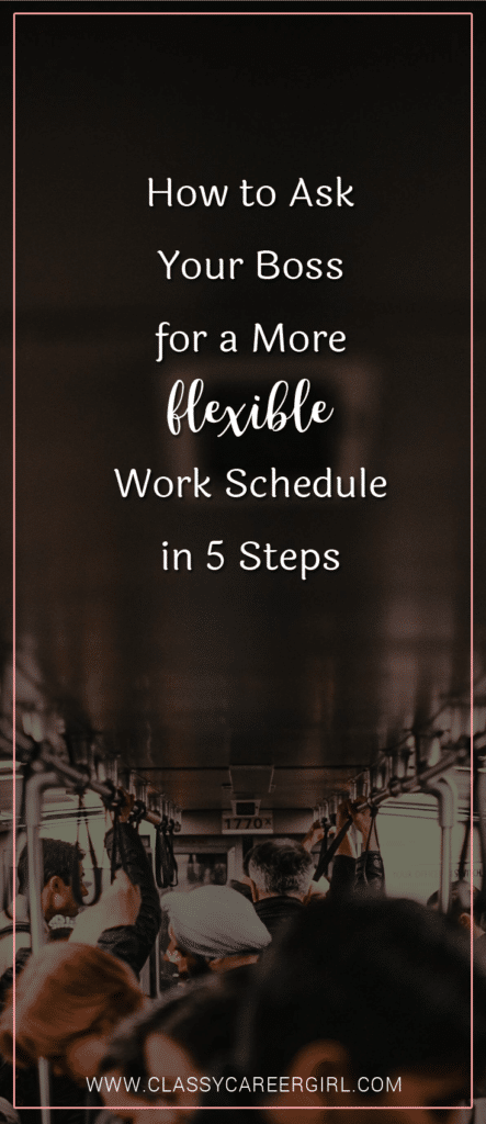 How to Ask Your Boss for a More Flexible Work Schedule in 5 Steps